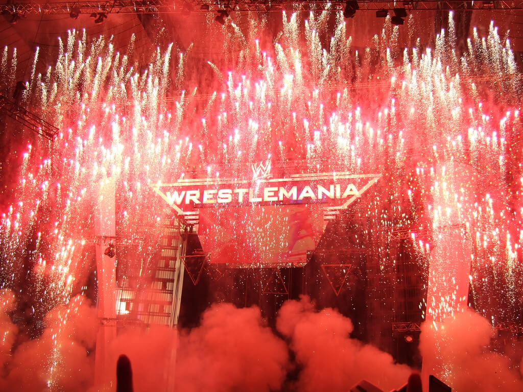 wrestlemania photo
