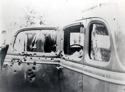 voiture de bonnie and clyde